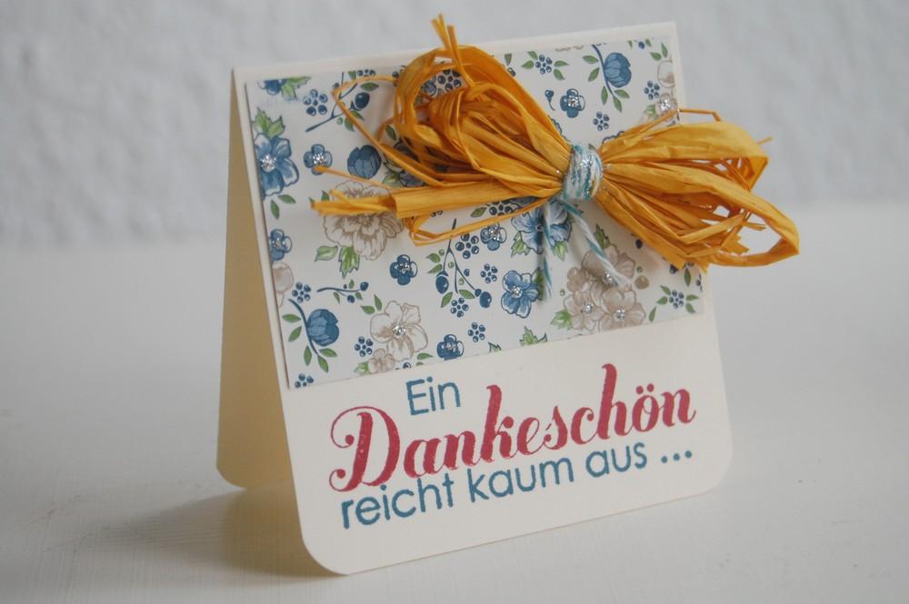 Ein Dankeschön (Mini)